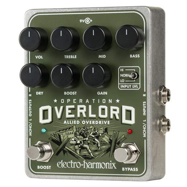 Electro Harmonix Operation Overlord Overdrive - Stomp Box - Electro Harmonix - Sounds Great Music