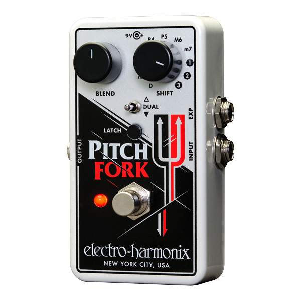 Electro Harmonix Pitch Fork Stomp Box, Electro Harmonix, Sounds Great Music