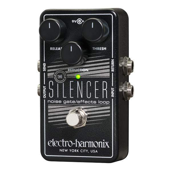 Electro Harmonix Silencer Noise Gate - Stomp Box - Electro Harmonix - Sounds Great Music
