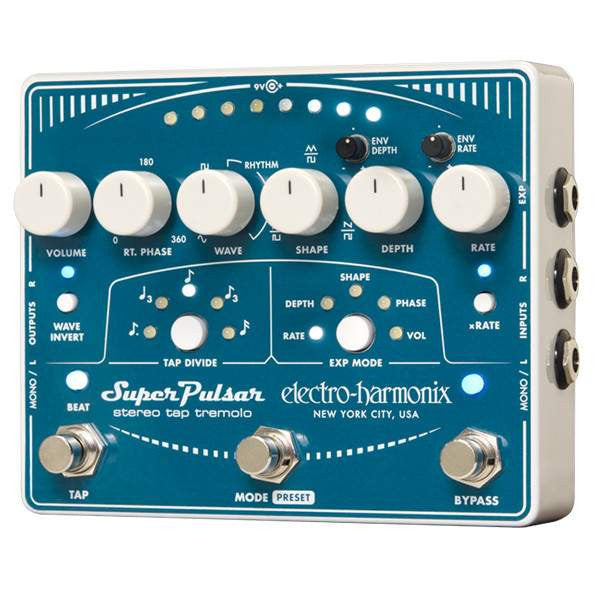 Electro Harmonix Super Pulsar - Stomp Box - Electro Harmonix - Sounds Great Music