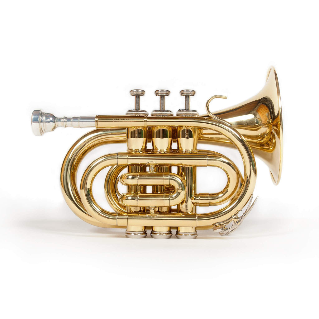 Elkhart Pocket Trumpet Outfit 100TPK by Vincent Bach Trumpets, Vincent Bach, Sounds Great Music