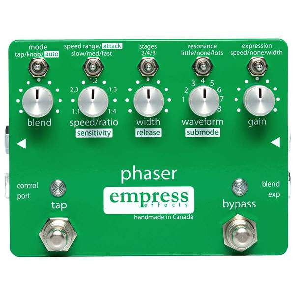 Empress Effects Phaser - Stomp Box - Empress Effects - Sounds Great Music