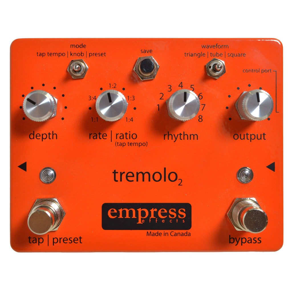 Empress Effects Tremolo2 - Stomp Box - Empress Effects - Sounds Great Music