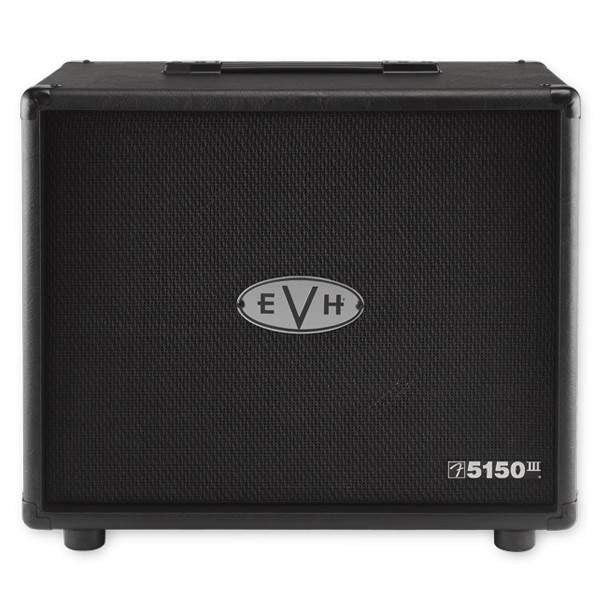 EVH 5150III 112 Cab Black Cabinet, EVH, Sounds Great Music