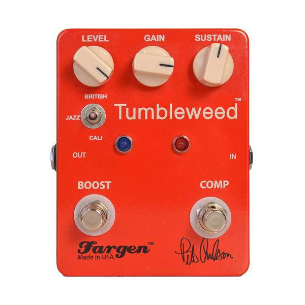 Fargen Pete Anderson Tumbleweed Stomp Box, Fargen, Sounds Great Music