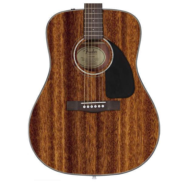 Fender CD-60 All Mahogany, Rosewood Fingerboard, Natural Acoustic Guitar, Fender, Sounds Great Music