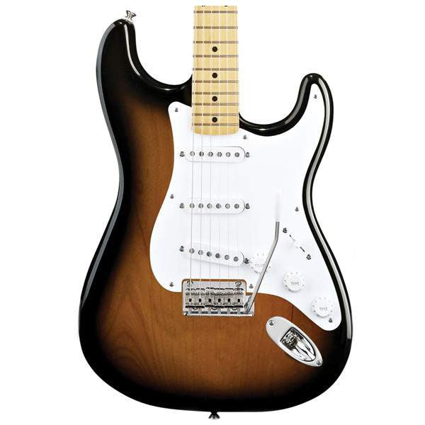 Fender Classic Player '50s Stratocaster, Maple Fingerboard, 2-Color Sunburst Electric Guitar - Electric Guitar - Fender - Sounds Great Music