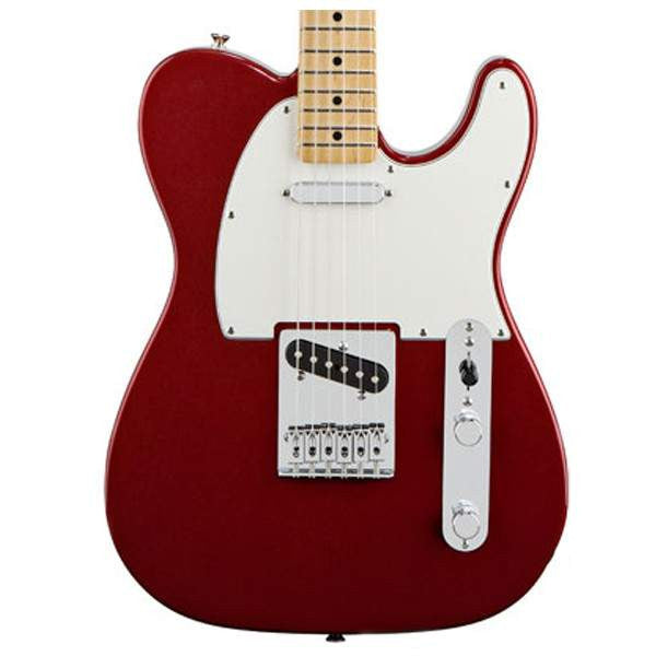 Fender Standard Telecaster, Maple Fingerboard, Candy Apple Red Electric Guitar - Electric Guitar - Fender - Sounds Great Music