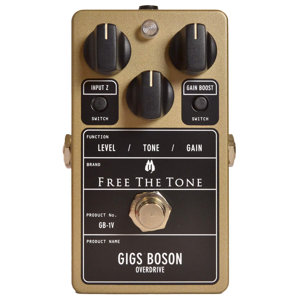 Free the Tone Gigs Boson Overdrive GB-1V - Stomp Box - Free the Tone - Sounds Great Music