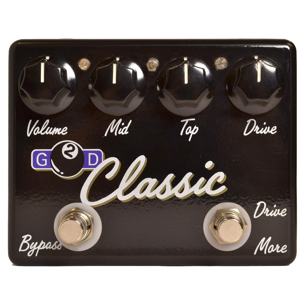 G2D Classic Overdrive - Stomp Box - G2D Effects - Sounds Great Music