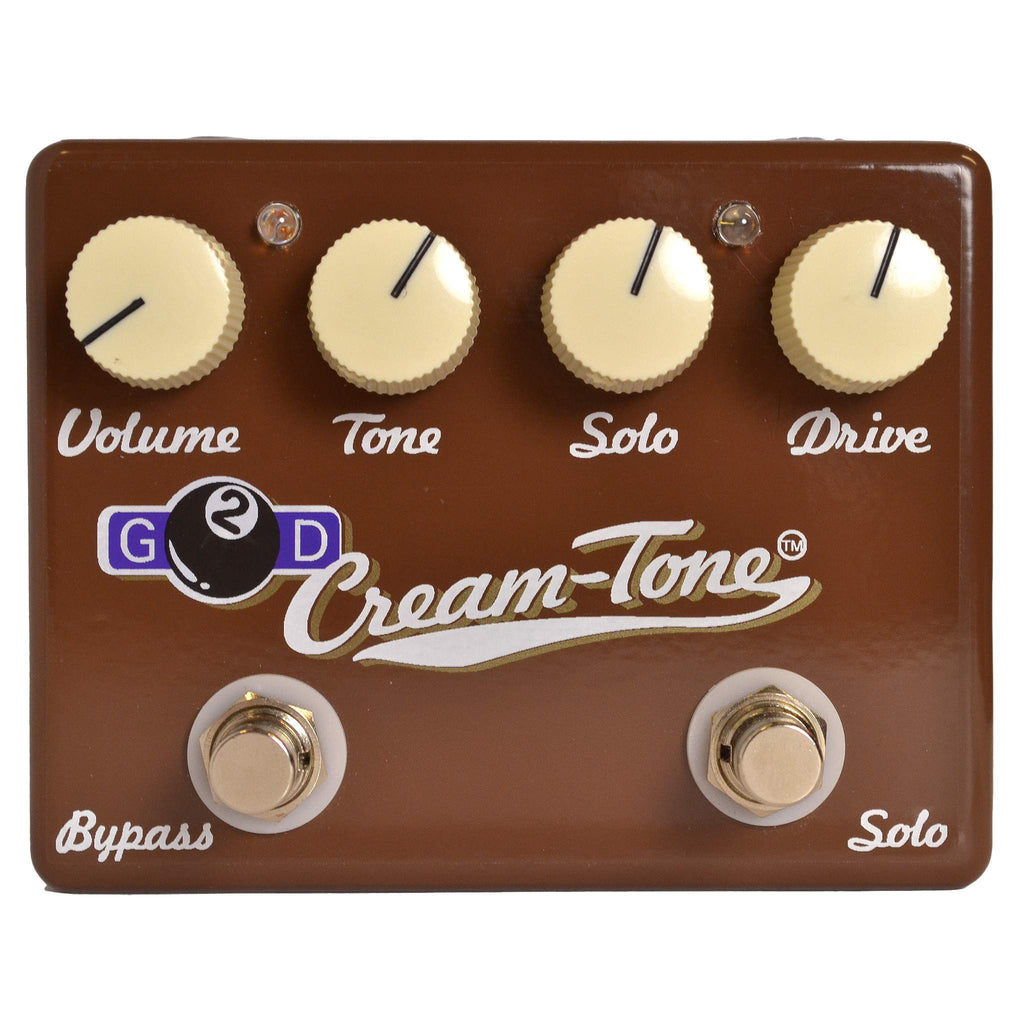 G2D Cream Tone - Stomp Box - G2D Effects - Sounds Great Music