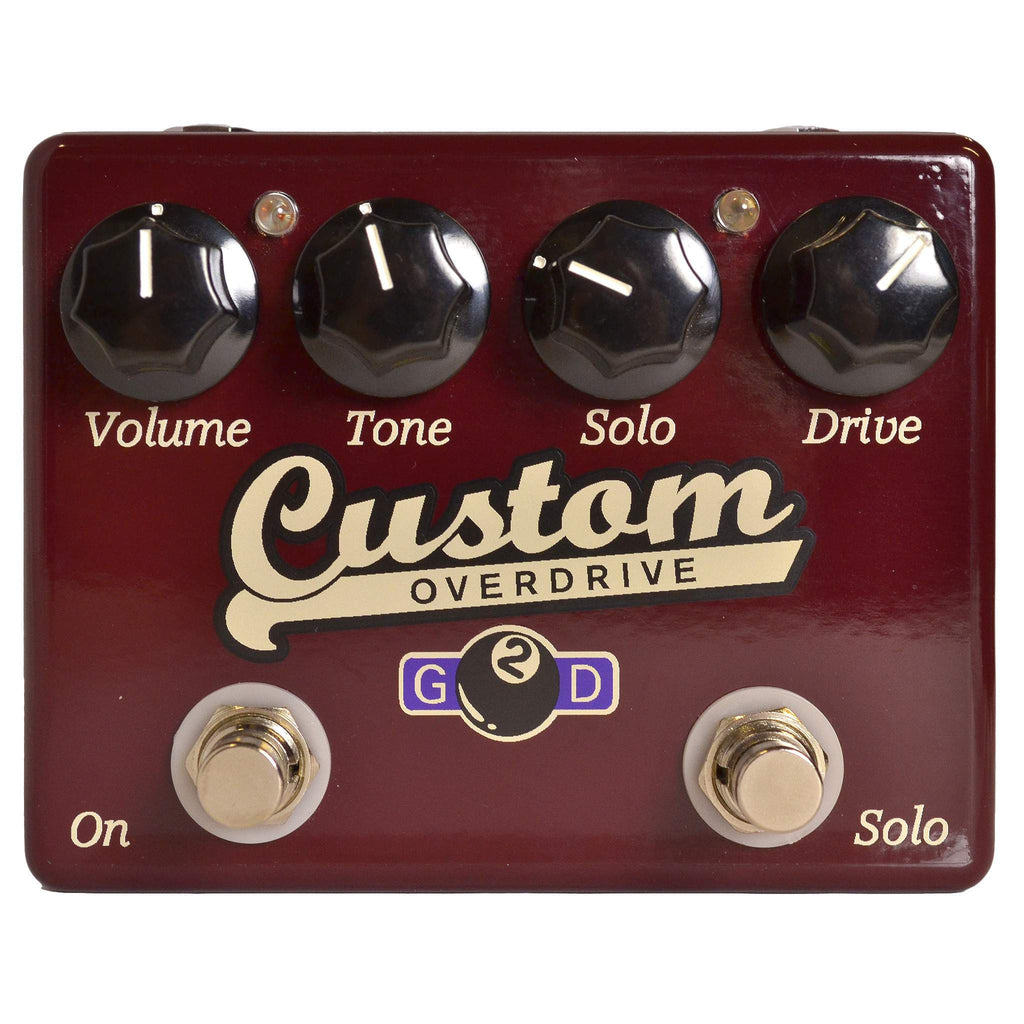 G2D Custom Overdrive - Stomp Box - G2D Effects - Sounds Great Music