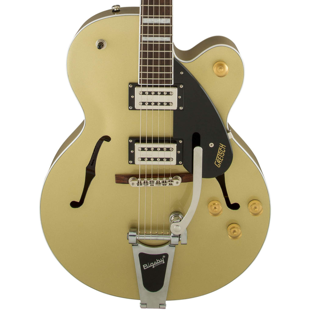 Gretsch G2420T Streamliner Hollow Body with Bigsby Gold Dust Electric Guitar, Gretsch, Sounds Great Music