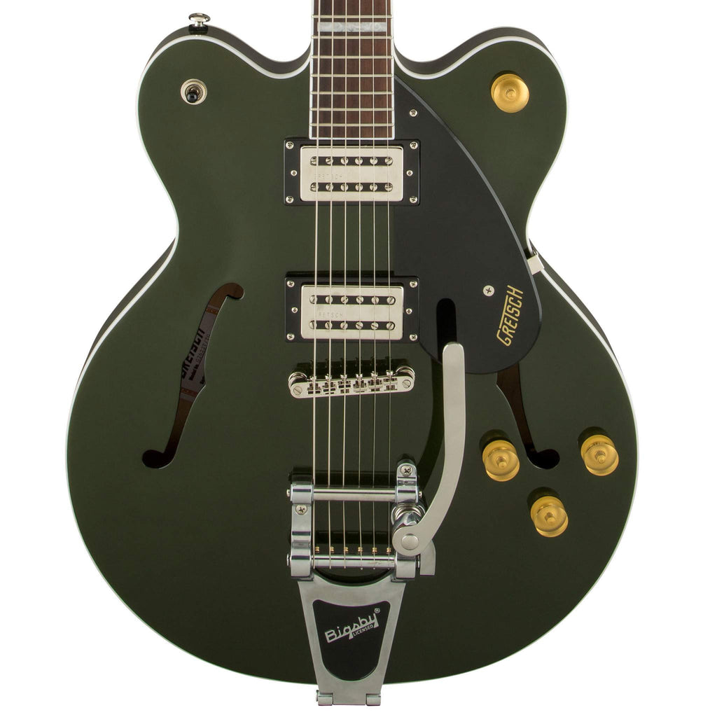 Gretsch G2622T Streamliner Center Block with Bigsby Torino Green Electric Guitar, Gretsch, Sounds Great Music