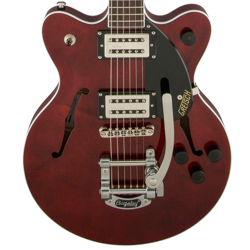 Gretsch G2655T Streamliner Center Block Junior with Bigsby Walnut Stain Electric Guitar, Gretsch, Sounds Great Music