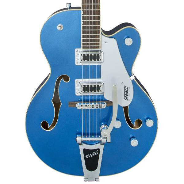 Gretsch G5420T Electromatic Hollow Body Single Cut Bigsby Fairlane Blue Electric Guitar, Gretsch, Sounds Great Music
