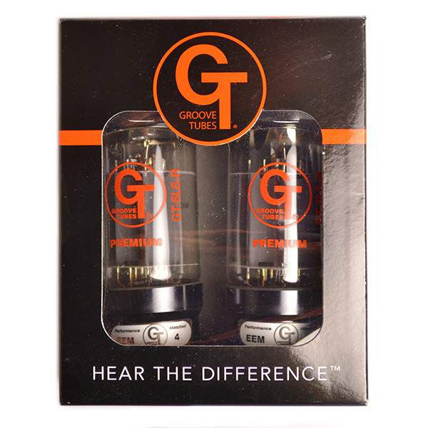 Groove Tubes GT-6L6-RD-M Matched Duet Power Tubes Medium Valves, Groove Tubes, Sounds Great Music