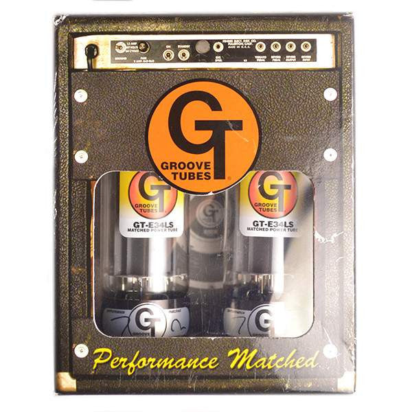 Groove Tubes GT-E34LS Power Tube - Duet - Medium Valves, Groove Tubes, Sounds Great Music