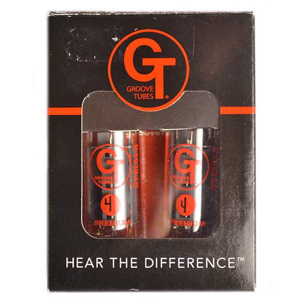 Groove Tubes GT-EL84-RD-M Medium Output Russian Duet Power Tubes Valves, Groove Tubes, Sounds Great Music