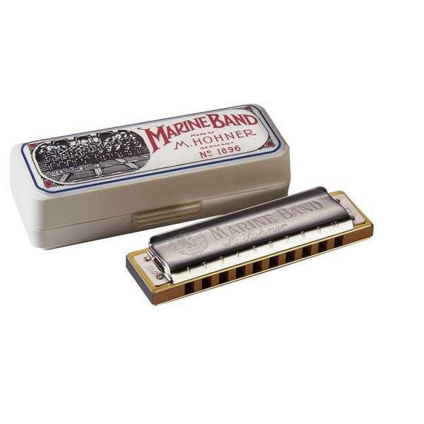 HOHNER MARINE BAND HARMONICA F# - Harmonicas - Hohner - Sounds Great Music