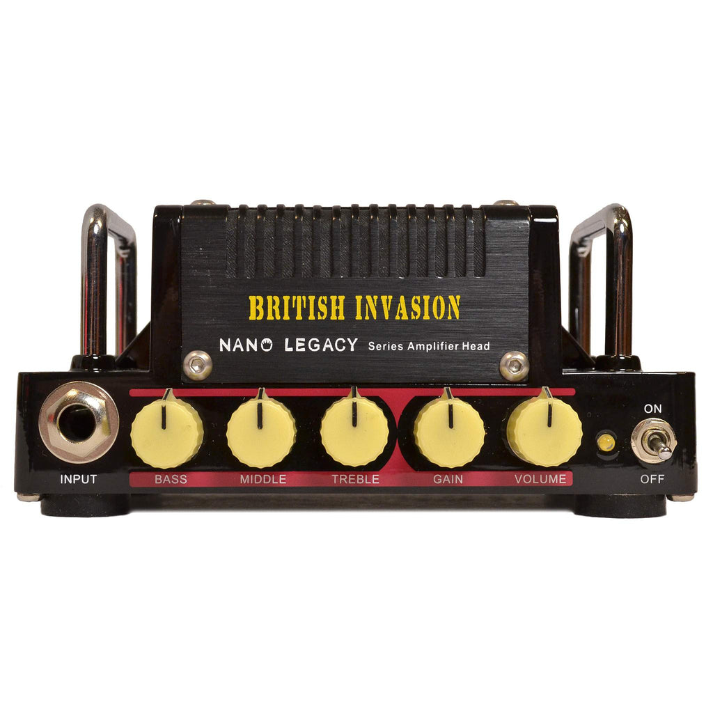 Hotone British Invasion Amplifier Head, Hotone, Sounds Great Music