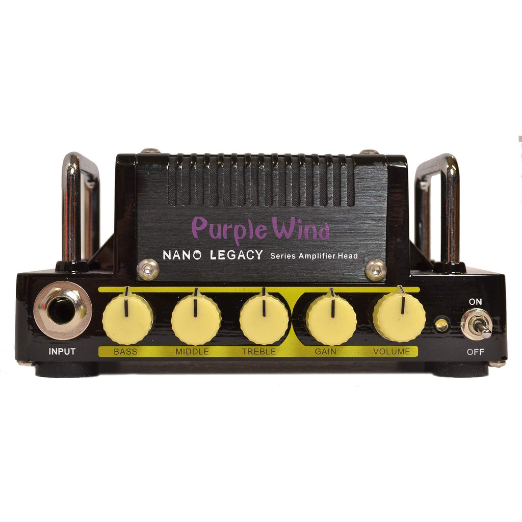 Hotone Purple Wind Amplifier Head, Hotone, Sounds Great Music