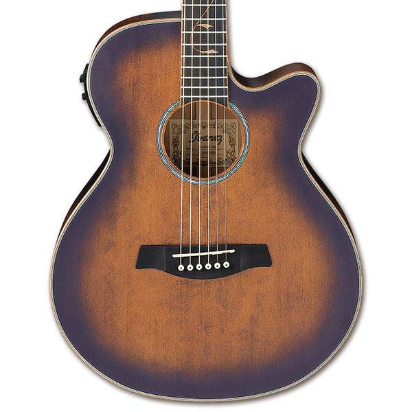 Ibanez AEG40II OAB Open Pore Antique Brown Sunburst Acoustic Guitar, Ibanez, Sounds Great Music