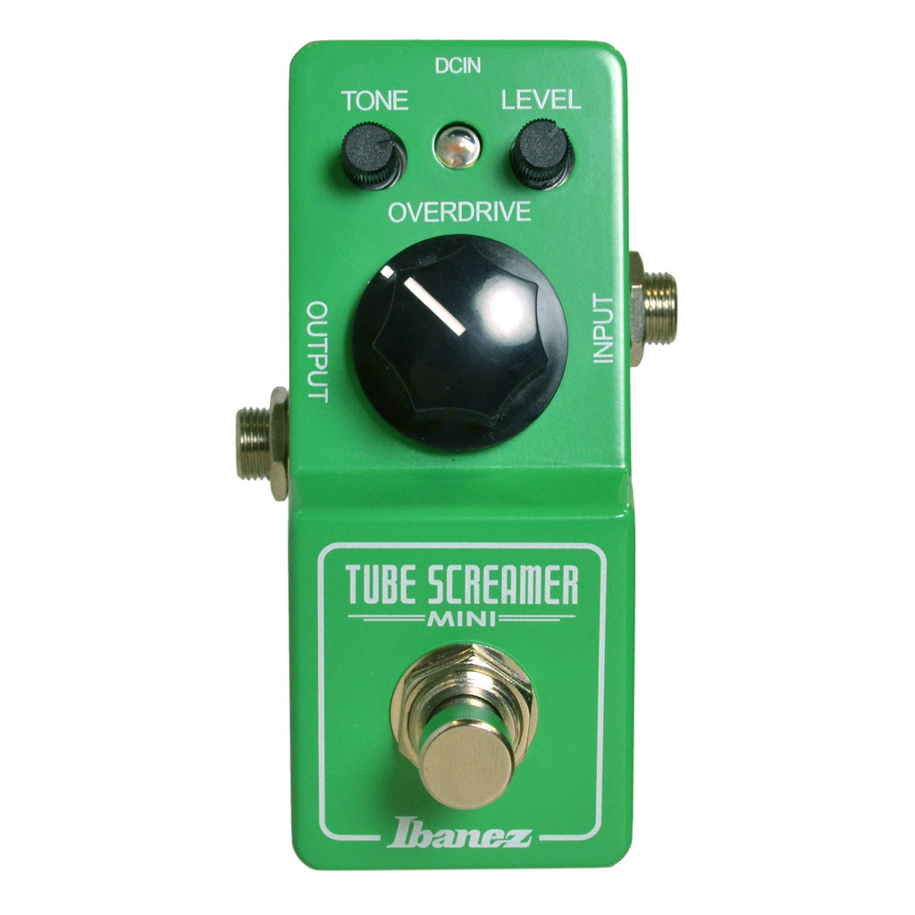 Ibanez Tubescreamer TS808 Mini Stomp Box, Ibanez, Sounds Great Music