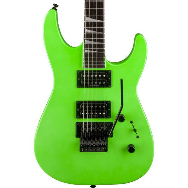Jackson Soloist SLX Slime Green Electric Guitar, Jackson, Sounds Great Music