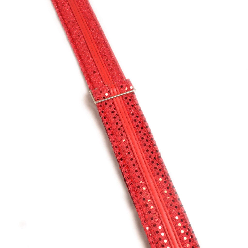 Jodie Head Red Sparkle Paw Prints Guitar Strap Guitar Straps, Jodi Head, Sounds Great Music