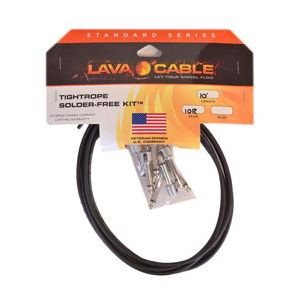 Lava Cable Tightrope Solder Free Kit LCTRKTB - Stomp Box - Lava Cable - Sounds Great Music