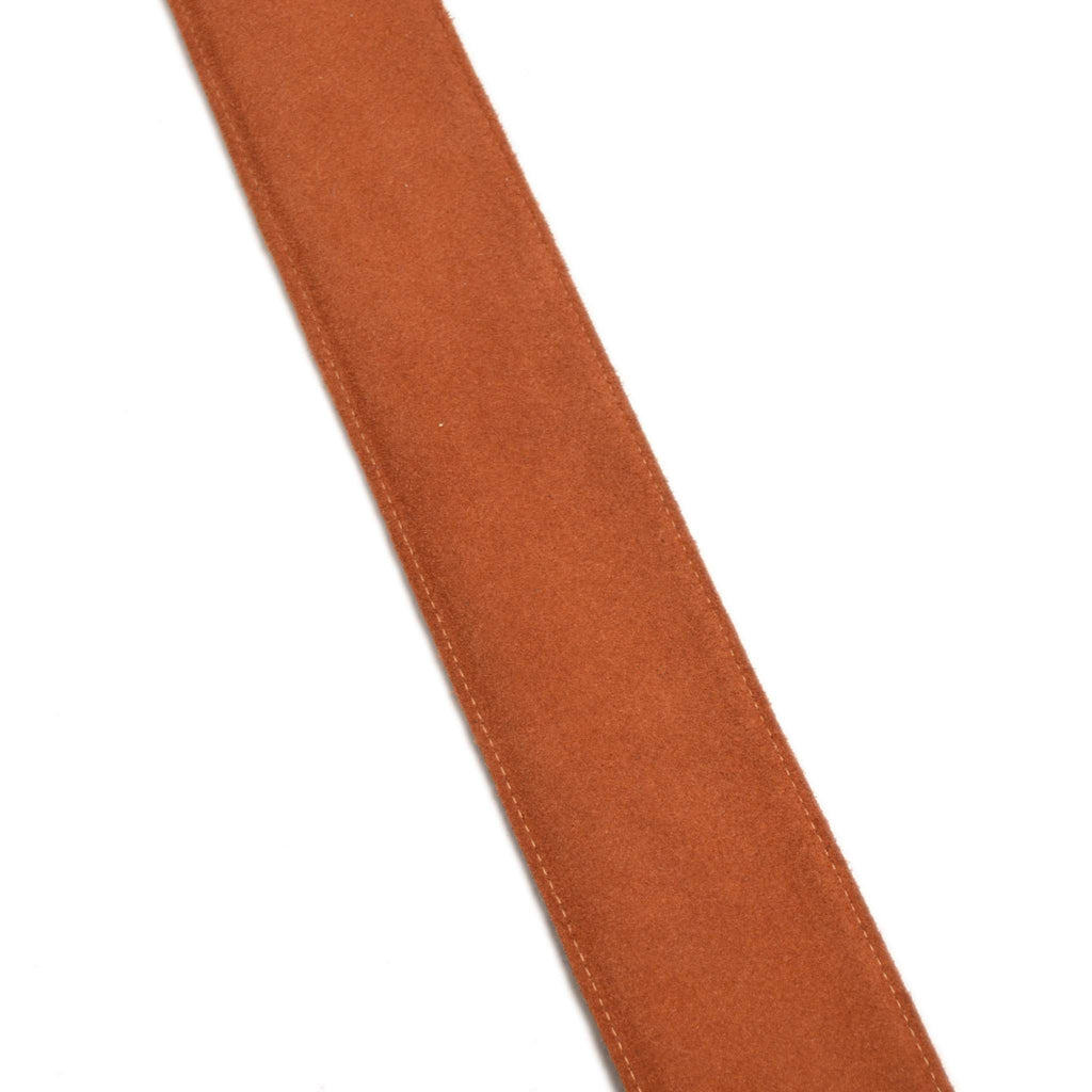 Leathergraft Reversible Deluxe  Black/Rust Leather Guitar Strap - Guitar Straps - Leathergraft - Sounds Great Music