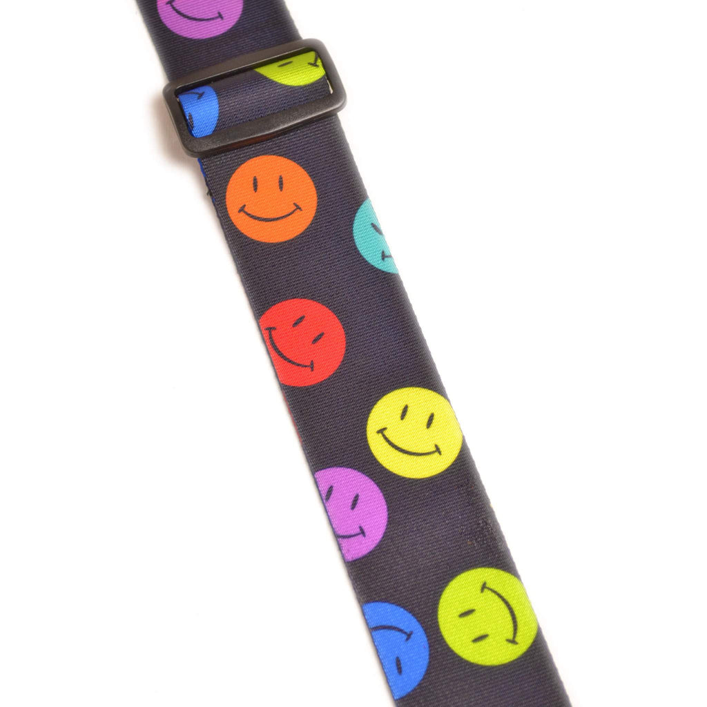 Leathergraft XL Smiley Face Guitar Strap Guitar Straps, Leathergraft, Sounds Great Music