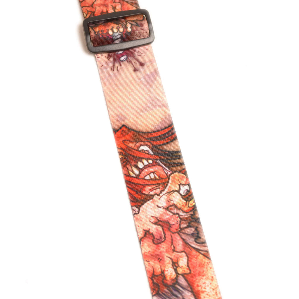 "Leathergraft XL Zombie 2"" Guitar Strap - Guitar Straps - Leathergraft - Sounds Great Music"