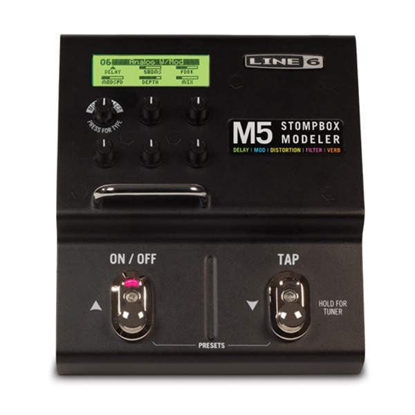 Line 6 M5 Stompbox Modeler - Stomp Box - Line 6 - Sounds Great Music
