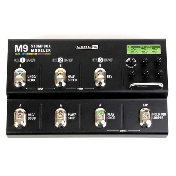 Line 6 M9 Stompbox Modeler - Stomp Box - Line 6 - Sounds Great Music
