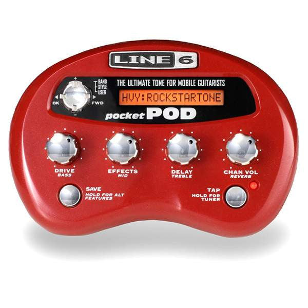 Line 6 Pocket Pod Multi FX, Line 6, Sounds Great Music