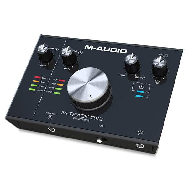 M-Audio M-Track 2x2 - Audio Interfaces - M-Audio - Sounds Great Music