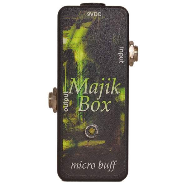 Majik Box USA Micro Buff - Stomp Box - Majik Box - Sounds Great Music
