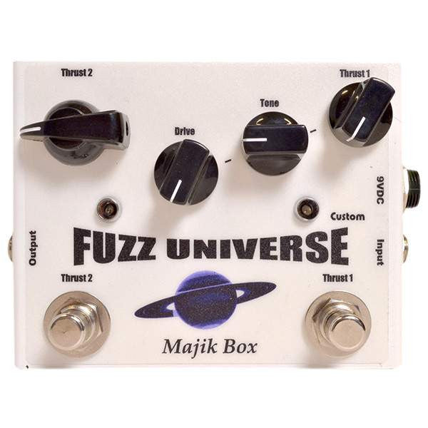 Majik Box USA Paul Gilbert Fuzz Universe Custom - Stomp Box - Majik Box - Sounds Great Music