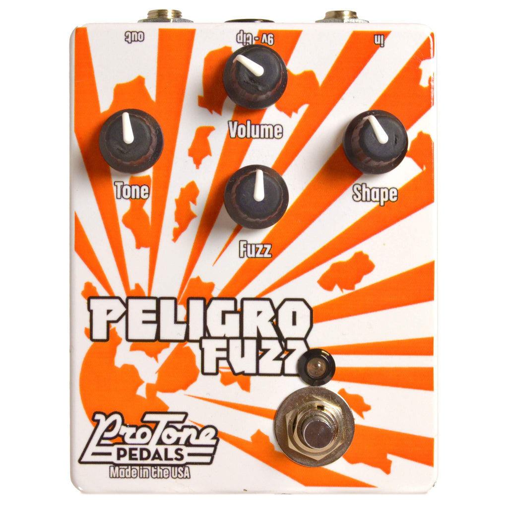ProTone Peligro Fuzz Second Hand Stomp Box, ProTone, Sounds Great Music