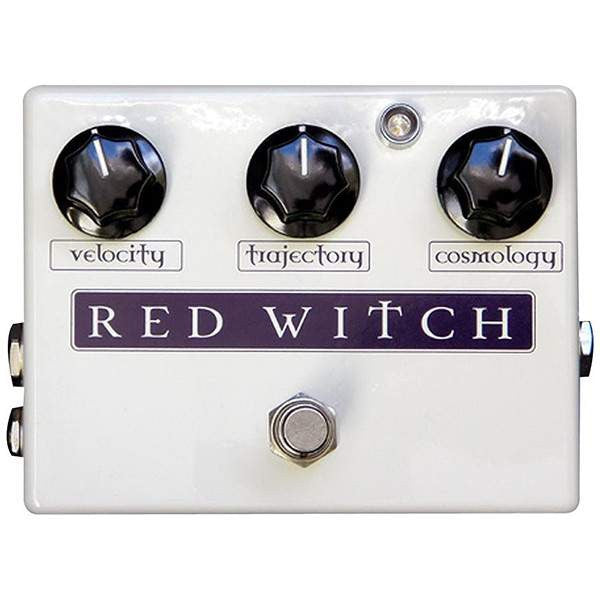 Red Witch Deluxe Moon Phaser Stomp Box, Red Witch, Sounds Great Music