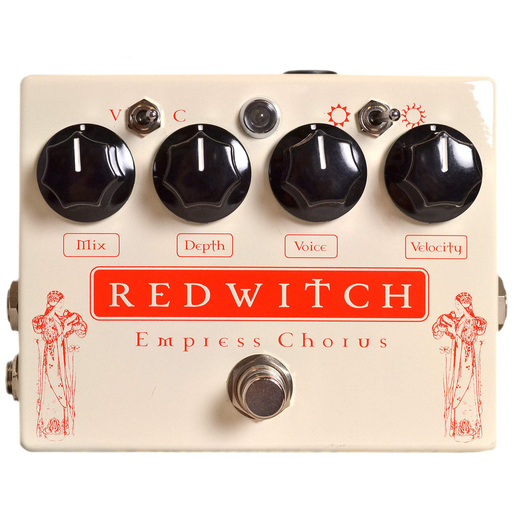 Red Witch Empress Chorus Stomp Box, Red Witch, Sounds Great Music