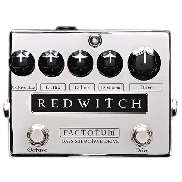 Red Witch Factotum Stomp Box, Red Witch, Sounds Great Music