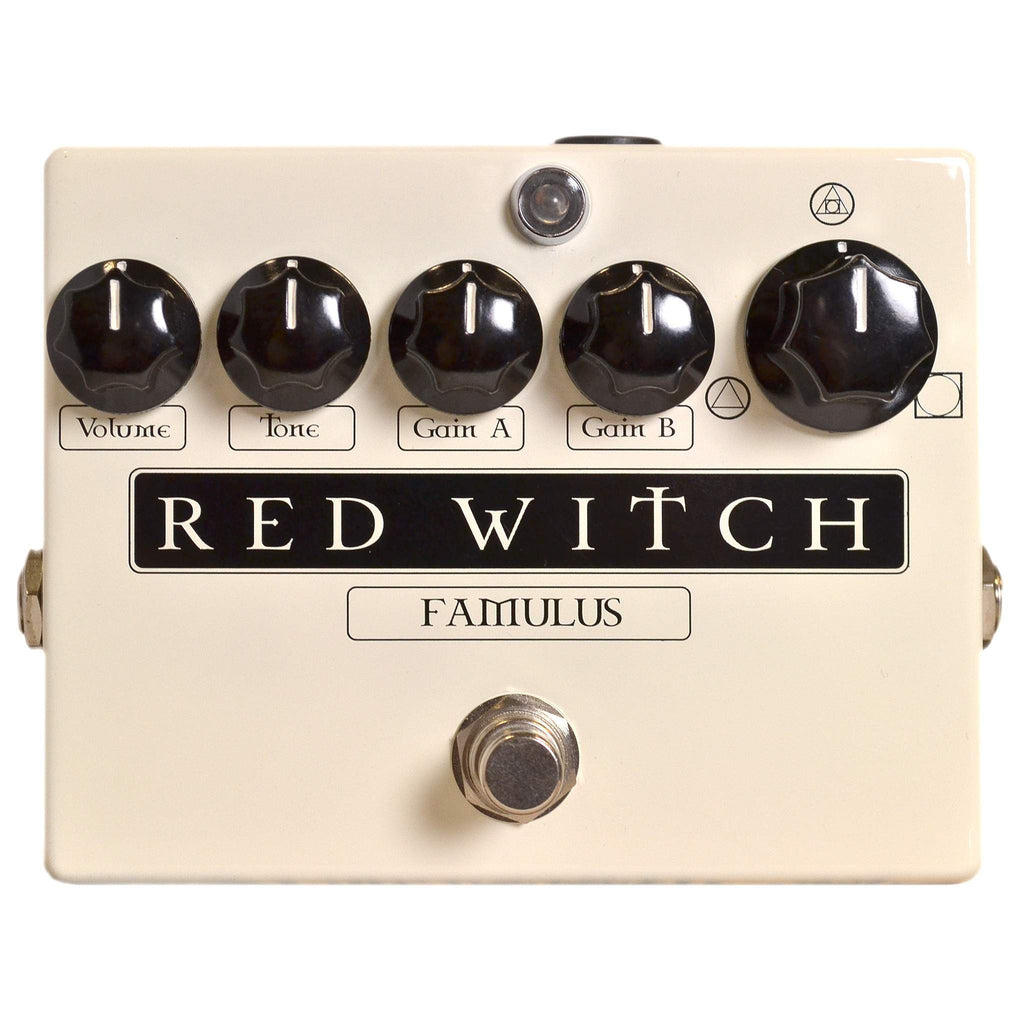 Red Witch Famulus Stomp Box, Red Witch, Sounds Great Music