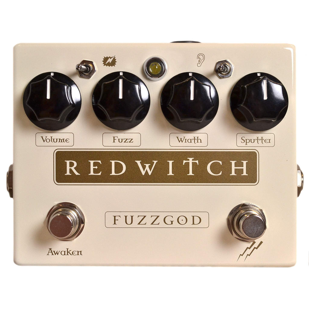 Red Witch Fuzz God II Stomp Box, Red Witch, Sounds Great Music