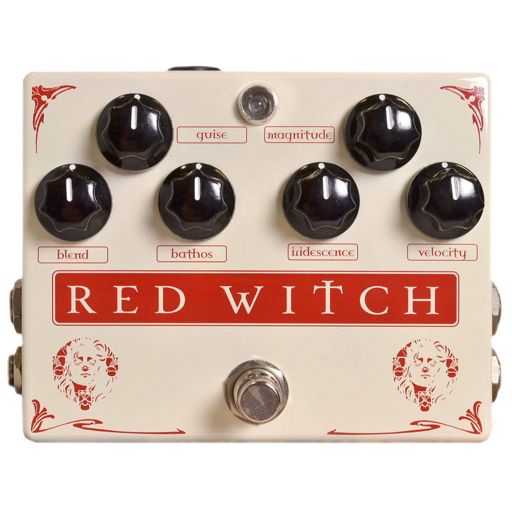 Red Witch Medusa Stomp Box, Red Witch, Sounds Great Music
