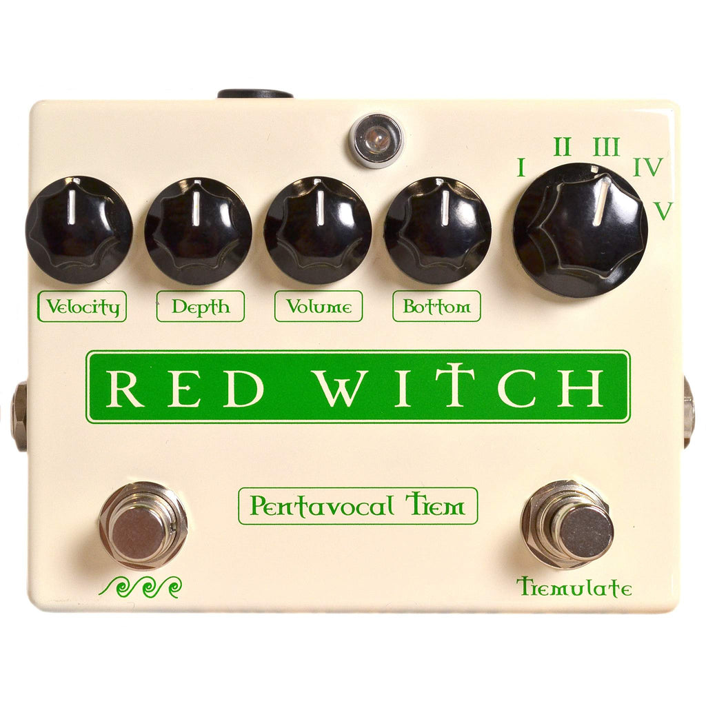 Red Witch Pentavocal Trem Stomp Box, Red Witch, Sounds Great Music