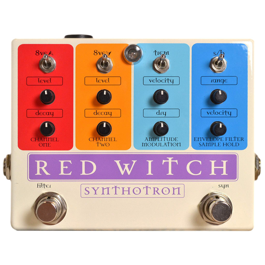Red Witch Synthotron Stomp Box, Red Witch, Sounds Great Music