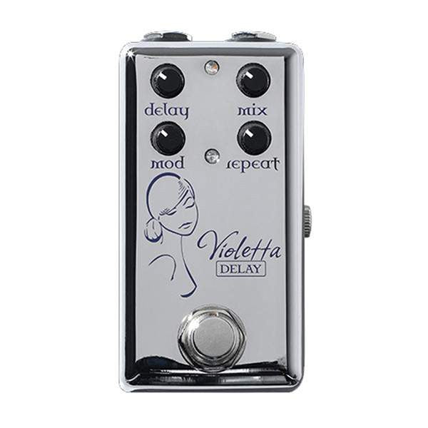 Red Witch Violetta Delay Chrome Stomp Box, Red Witch, Sounds Great Music